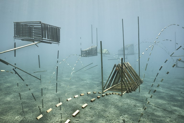 Sunken Village, part of the Autotomy Exhibition |  Photo courtesy of forlane 6 Studio