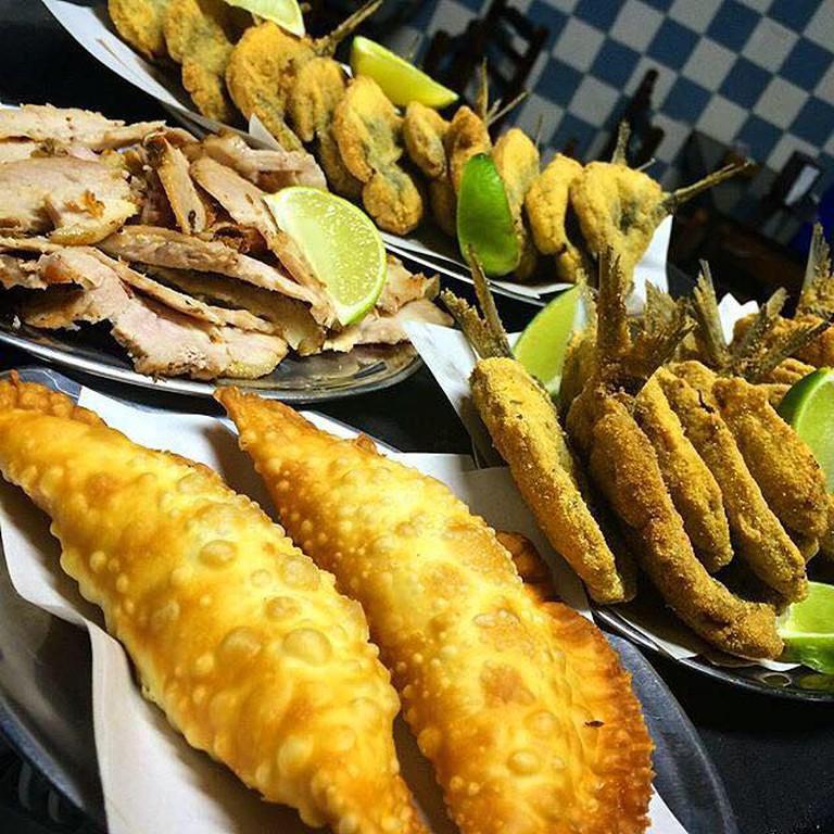 The famous sardines at Bode cheiroso | courtesy of Bar Bode Cheiroso