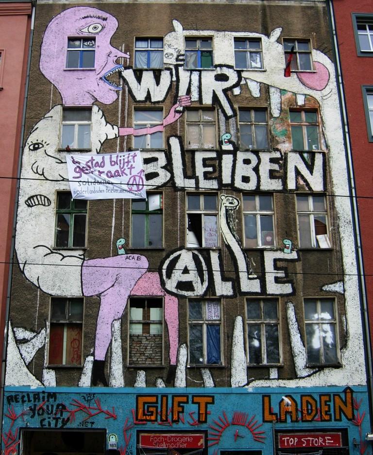 Brunnenstrasse 183 | © Jotquadrat/WikiCommons