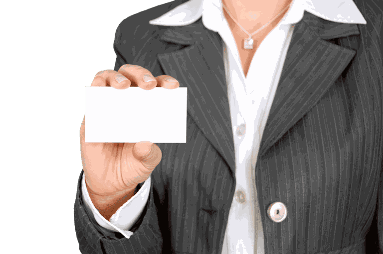 Business card etiquette is important | © Pixabay