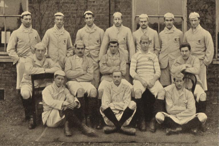 Cambridge University RFC XV in 1890