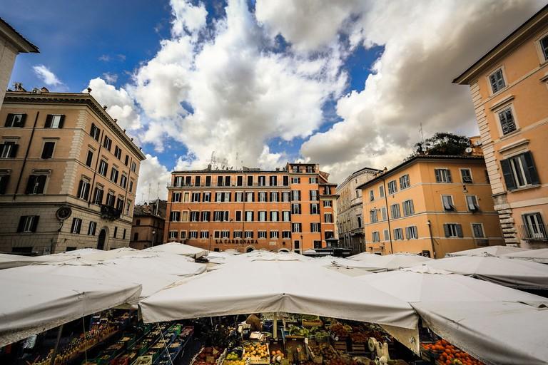 Campo de' Fiori market | © Flickr/Roberto Taddeo