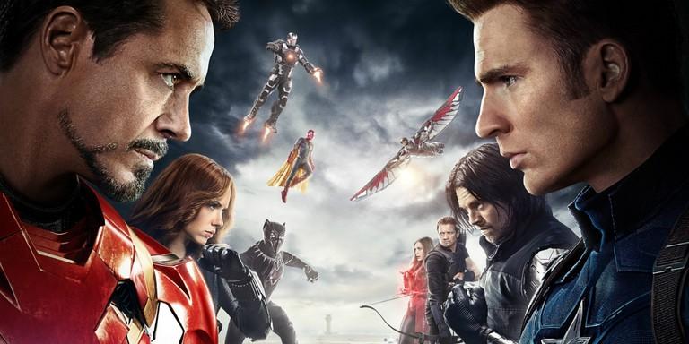 Battle lines are drawn. Captain America (Marvel/Disney)