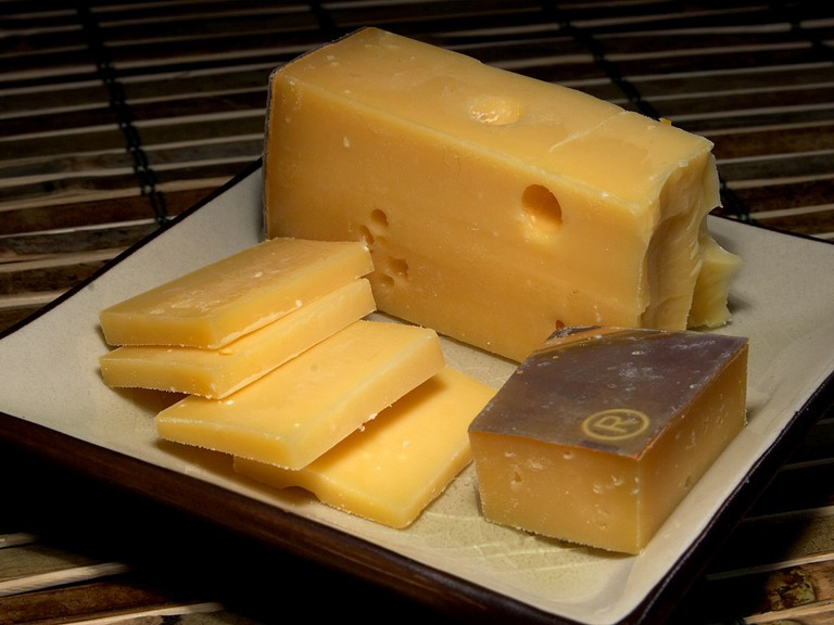 Calcium rich cheese is a corner stone of the Dutch diet