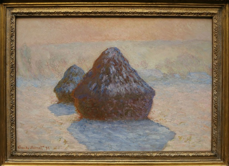Claude Monet, Haystacks (Snow), 1891 | Courtesy Of Tori Chalmers