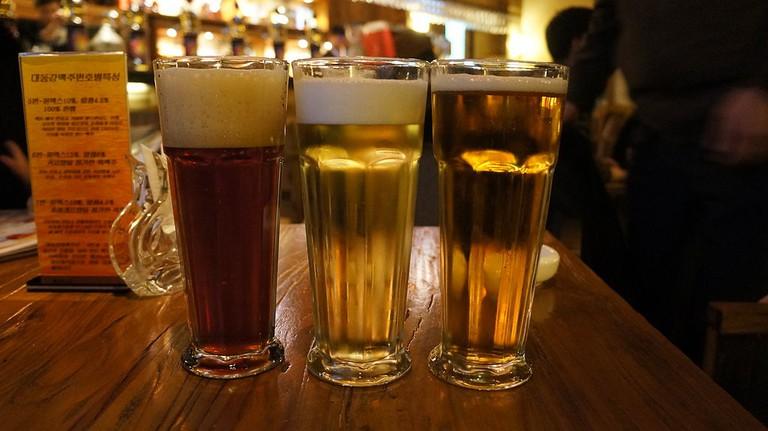 Beer on tap at Banana Jack |© Russavia.WikiCommons