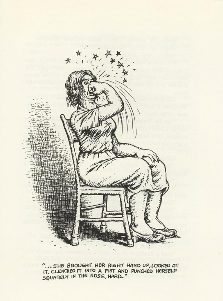 R. Crumb illustrated Bukowski's book Bring Me Your Love | © Black Sparrow Press