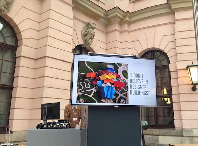 Slide from Margot López's presentation during CTM16 Berlin