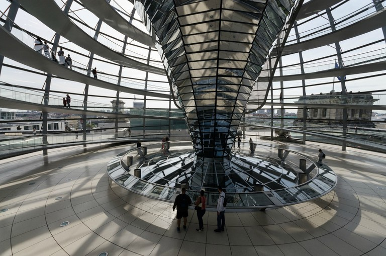 inside the Reichstag dome | © Clément Belleudy/Flickr