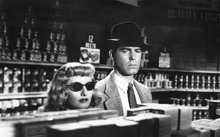 Fred MacMurray and Barbara Stanwyck in 'Double Indemnity'