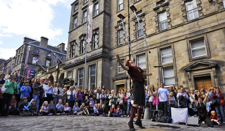 Fringe Street Performer