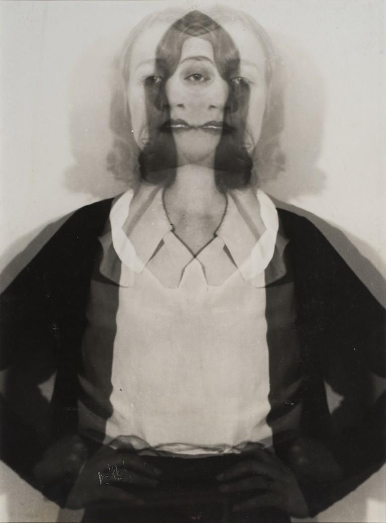 Erwin Blumenfeld photograph: 'Double Exposure', 1932, courtesy of Osborne Samuel Gallery