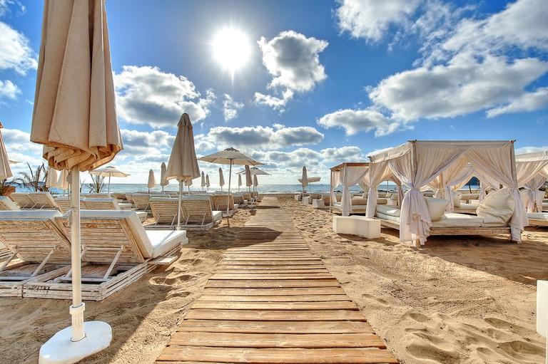 The beach chill-out area | Courtesy of Ushuaia Ibiza Beach Hotel