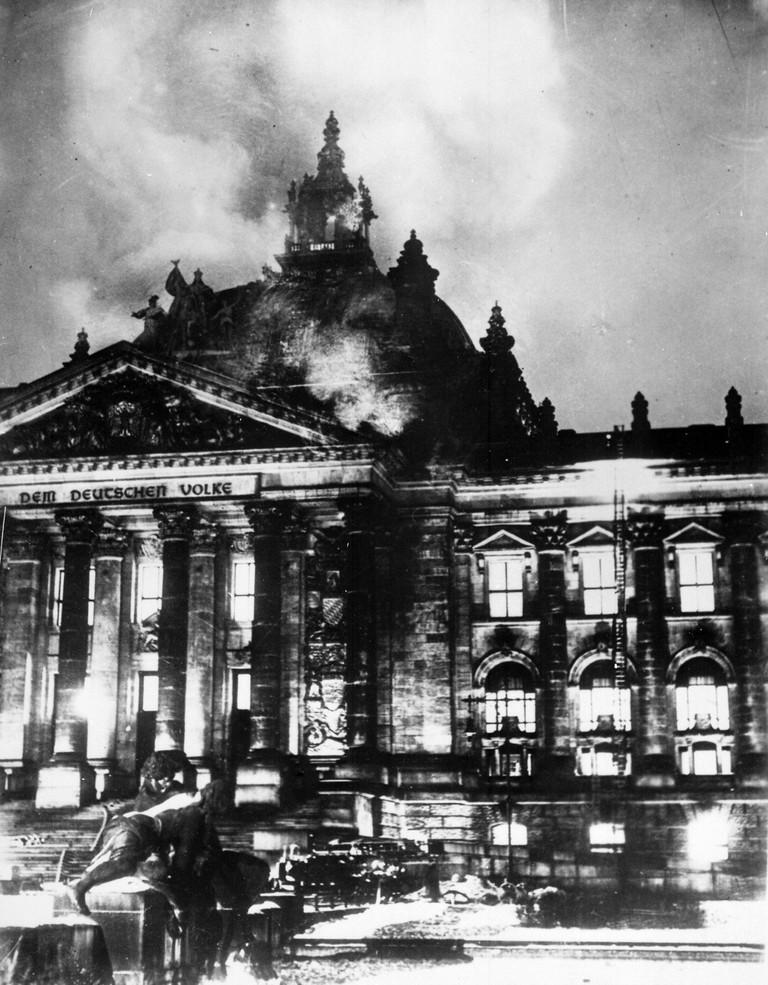 Reichstag fire | © DIREKTOR/WikiCommons