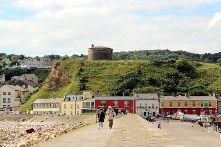 Martello Tower from East Pier, Howth, County Dublin