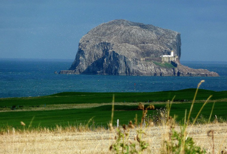 Bass Rock From North Berwick Golf Club | © Tom Pattison/Geograph