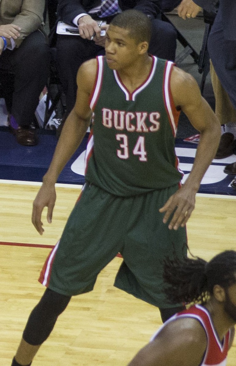 Giannis Antetokounmpo | © Keith Allison/WikiCommons