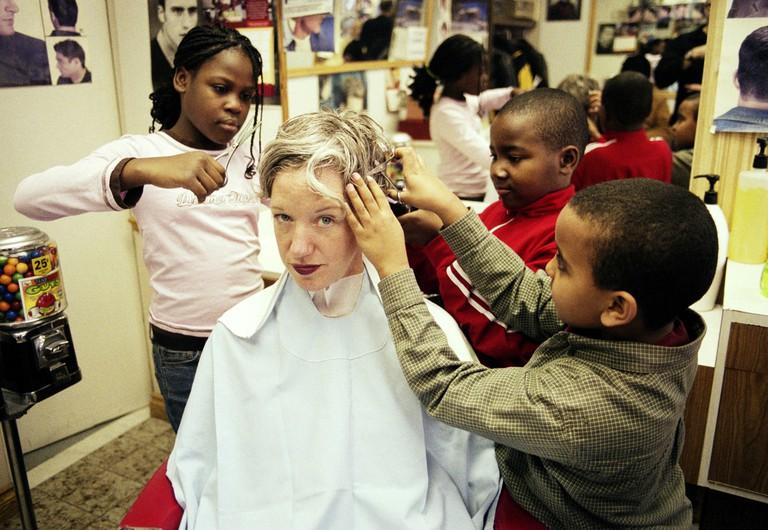 Haircuts by Children | © John Lauener