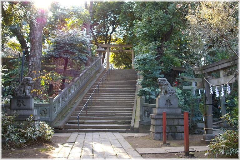 The Hikawa Jinja in Akasaka | © Betacommandbot/WikiCommons