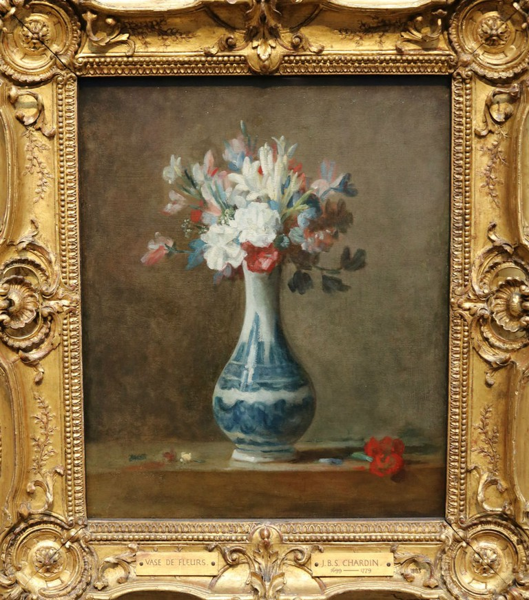 Jean-Baptiste Siméon Chardin Vase Of Flowers Early 1760s | Courtesy Of Tori Chalmers