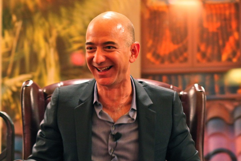 Amazon founder and CEO Jeff Bezos (cropped image)