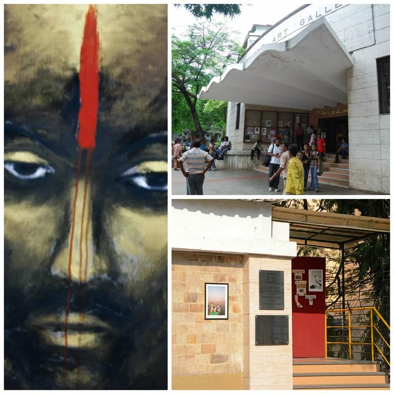 Jehangir Art Gallery in Kala Ghoda, Mumbai's 'Art District'| ©Elroy Serrao/Flickr ©Ting Chen/Flickr ©Suryanarayan Ganesh/WikiCommons