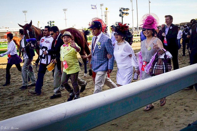 Kentucky Derby 2014 Walkover | © Bill Brine/WikiCommons