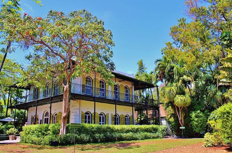 The Hemingway House was originally built in 1851  Pixabay