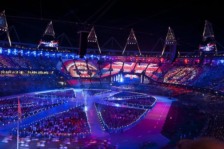 Opening ceremony, London 2012| Philip Pryke /Wikicommons