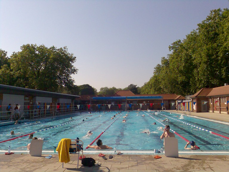 London Fields Lido|©Peter Smith/Wikicommons