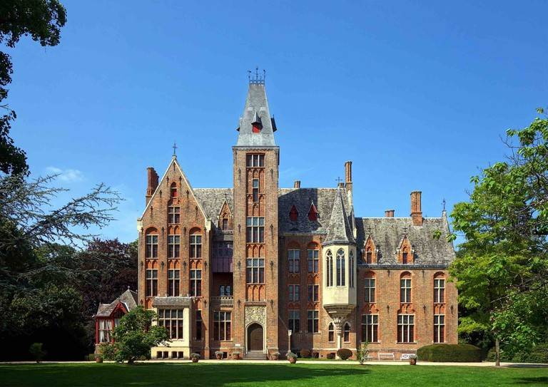 The Neo-Gothic castle of Loppem is somewhat of a time capsule, as it's the only Belgian château whose interior and exterior have been kept in their original state