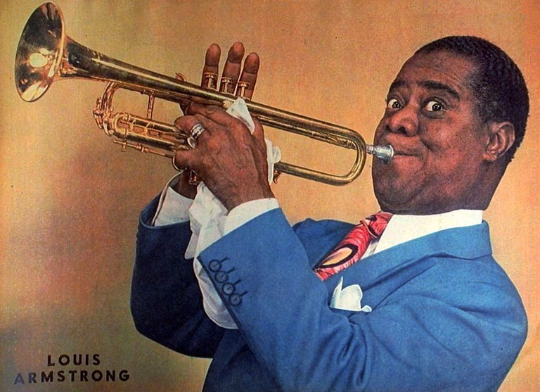 Louis Armstrong 1947 | New York Sunday News/Public domain