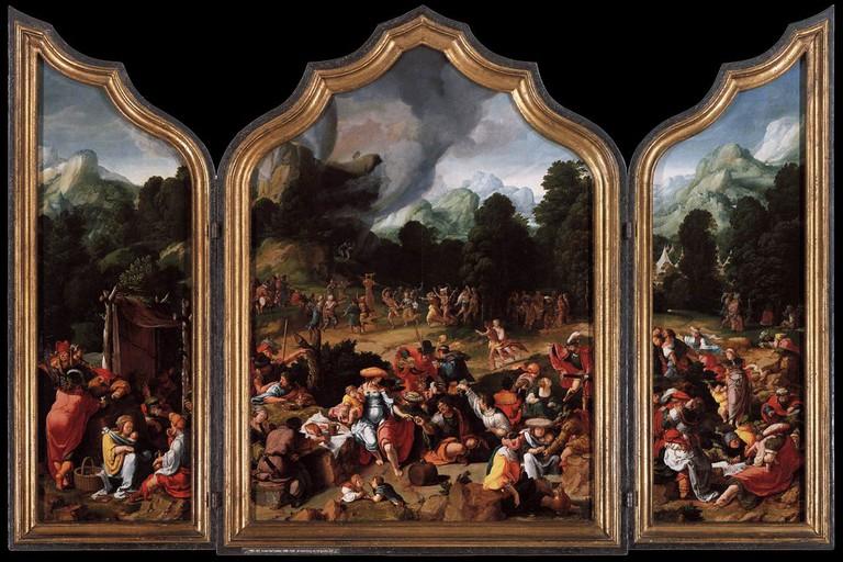 Lucas van Leyden: Worship of the Golden Calf, 1530 | © The Rijksmuseum / Wikicommons