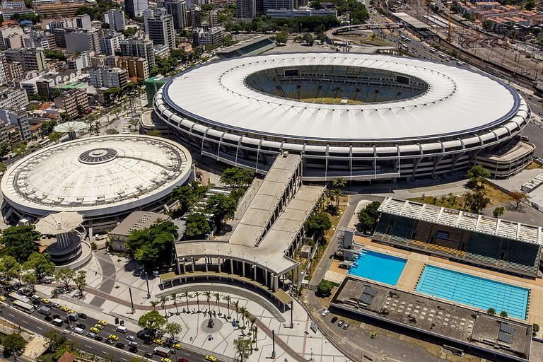 The renovated Maracanã stadium, Rio de Janeiro
