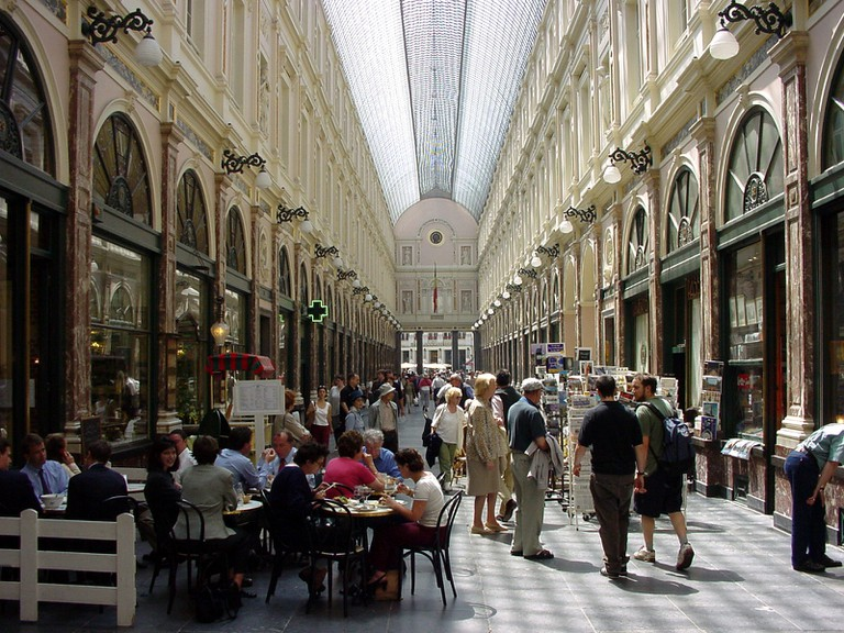 The Galeries Saint-Hubert, the so called 'umbrella of Brussels', has been delighting flâneurs since 1847 | © Marcel Vanhulst, courtesy of visitbrussels.be