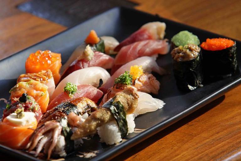 Sushi at Mitsuba | courtesy of Mitsuba restaurant