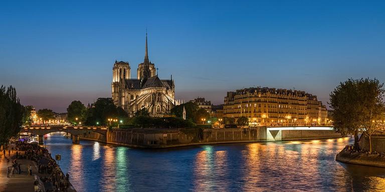 Notre Dame de Paris © DXR/WikiCommons