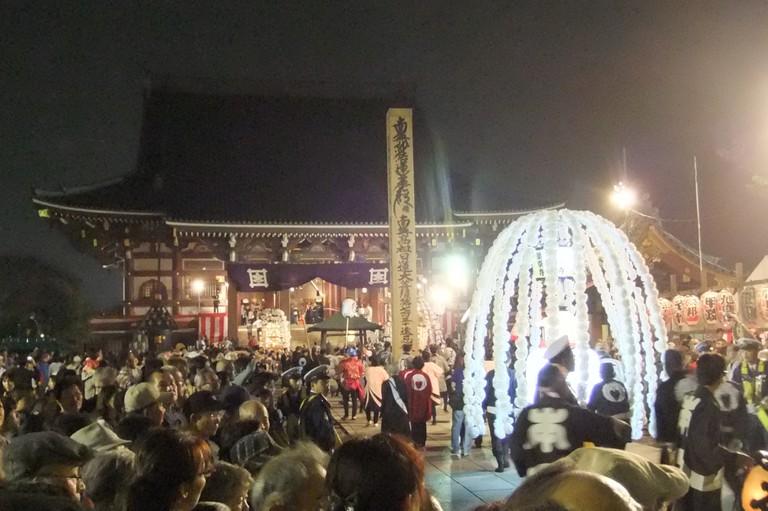 Oeshiki at Honmoji Temple | © tak1701/WikiCommons