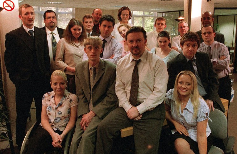 Heroes and Villains. The original cast of The Office