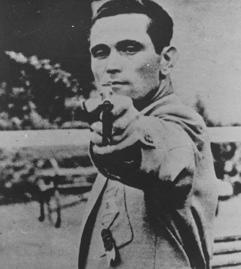 Károly Takács at the Helsinki Olympics in 1952 © 1952 / Comité International Olympique (CIO)