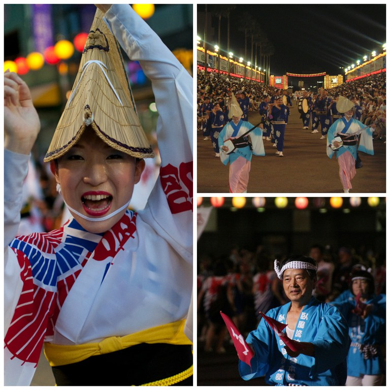 The Awa Odori Festivities © Stemu/WikiCommons