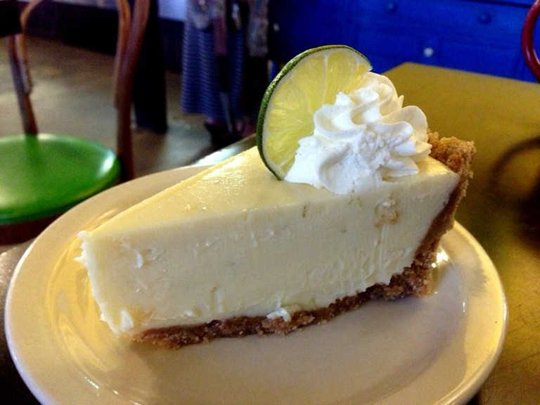 Key Lime Pie at Quack's 43rd Street Bakery