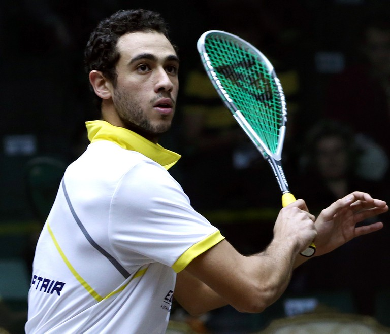 Three-time world champion, and Egyptian, Ramy Ashour