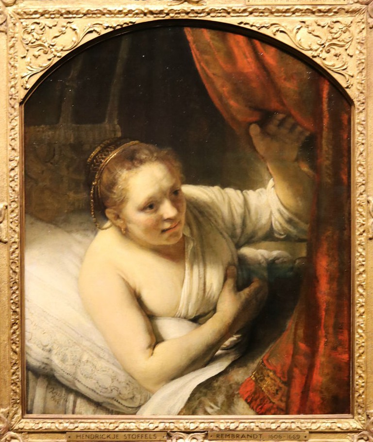 Rembrandt van Rijn, A Woman In Bed, 1646(7?) | Courtesy Of Tori Chalmers