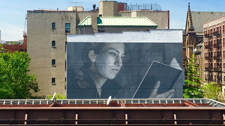 Mural by Australian Artist Rone | © Not A Crime Campaign