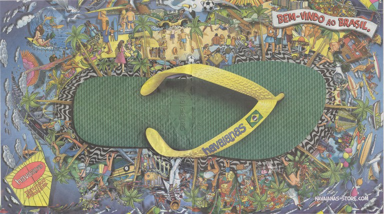 Brazil-styled Havaianas with the signature Brazil flag  © KaMpErƎ & Le-tticia/Flickr