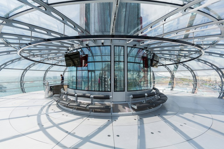 The interior of the pod|©British Airways i360/BA
