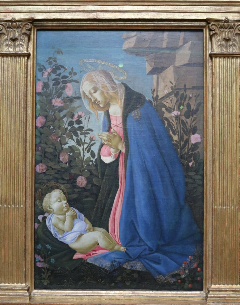 Sandro Botticelli, The Virgin Adoring The Sleeping Christ Child, About 1485