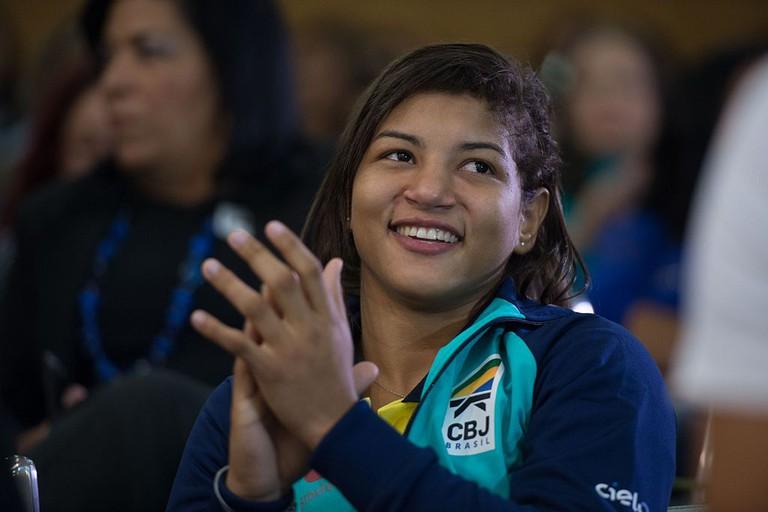 Sarah Menezes  © Mwaldeck/WikiCommons
