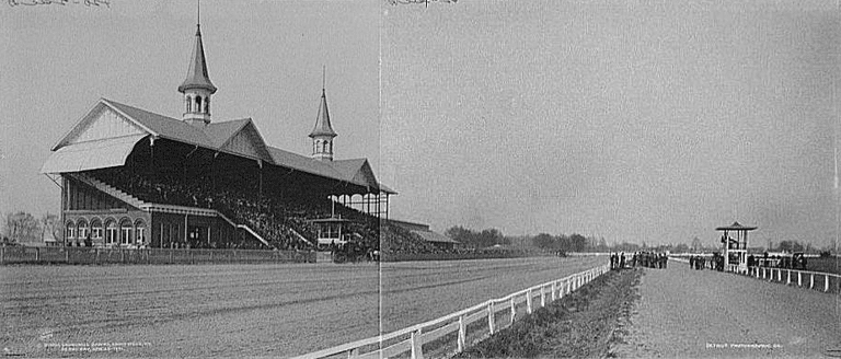 Churchill Downs in 1901 | © Public Domain/Wikicommons